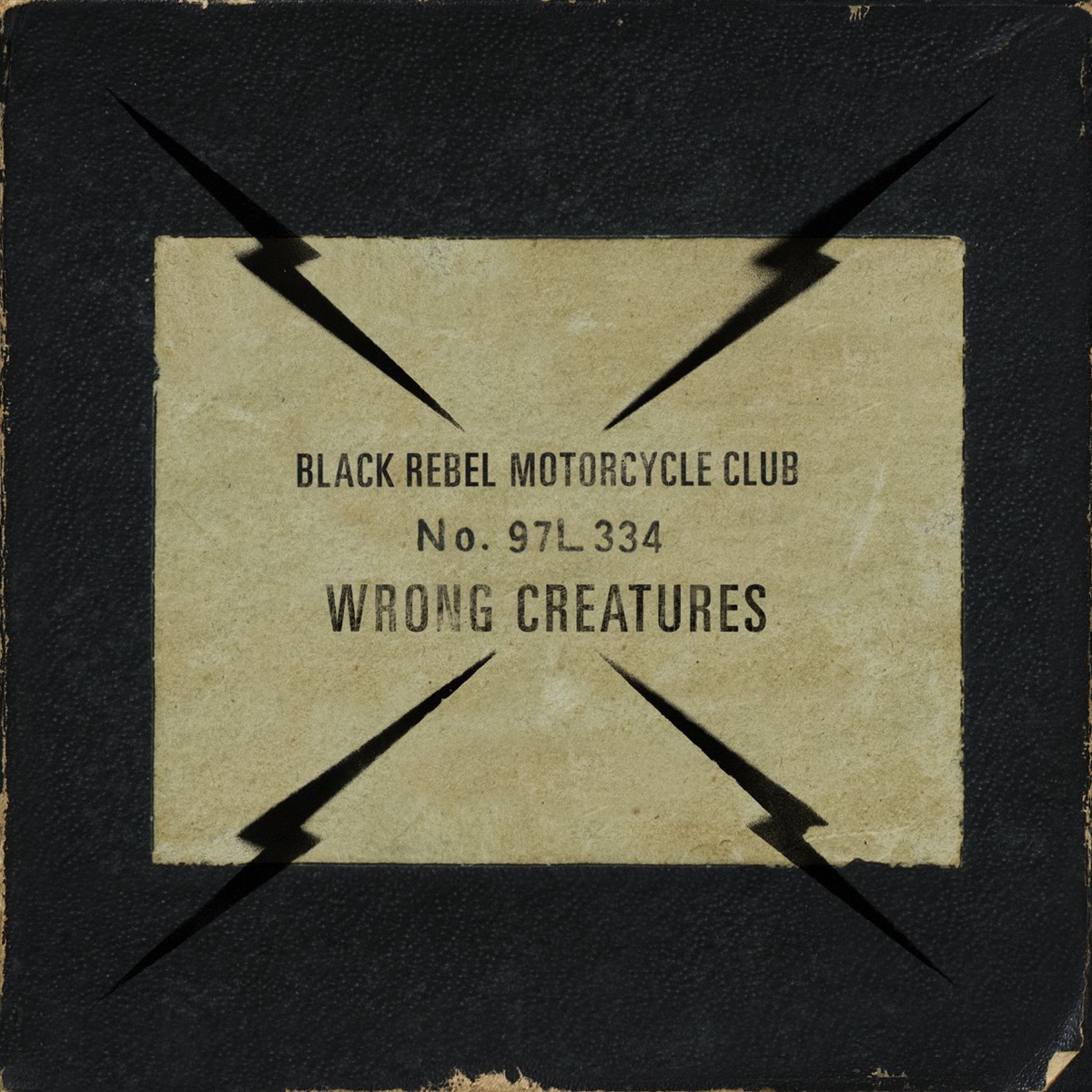 Wrong Creatures Black Rebel Motorcycle Club CD cover