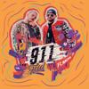 Feid - 911 (feat. Nacho) artwork