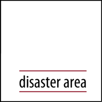 Podcast cover art for Disaster Area
