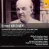 Mikhail Korzhev, English Symphony Orchestra & Kenneth Woods - Krenek: Complete Piano Concertos, Vol. 2 artwork