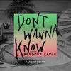 Don't Wanna Know (feat. Kendrick Lamar) [Fareoh Remix] - Single ジャケット写真
