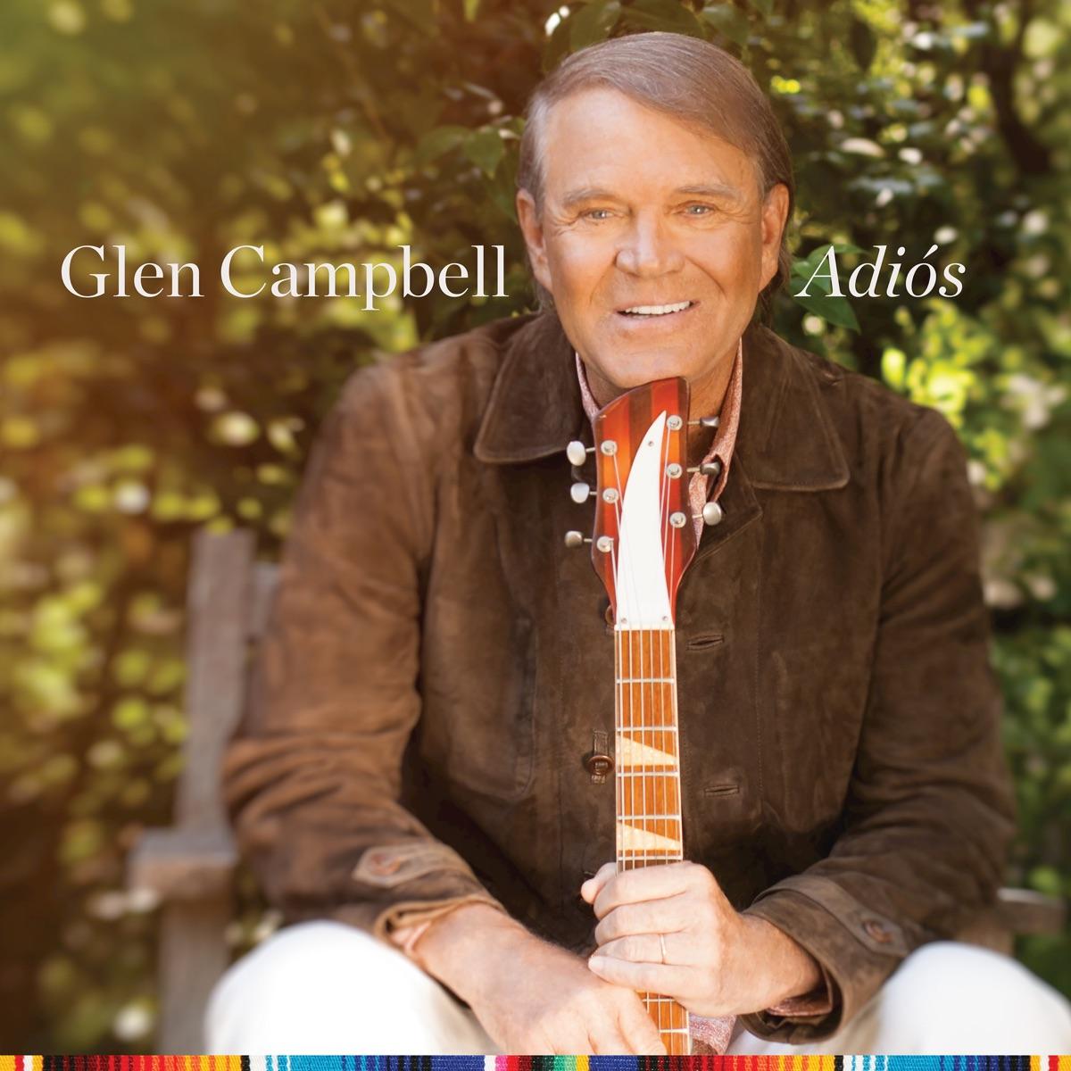 Adiós Glen Campbell CD cover