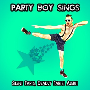 Party Boy Sings - Bath Tub Fart and Golden Cubicle Shower in a Jockstrap