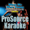ProSource Karaoke Band - When We Were Young (Originally Performed By Adele) [Instrumental] artwork