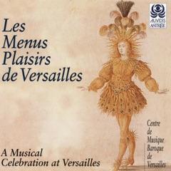 Les menus plaisirs Versailles