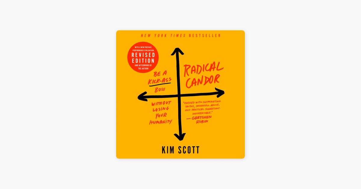 Radical Candor: Fully Revised & Updated Edition - Kim Scott