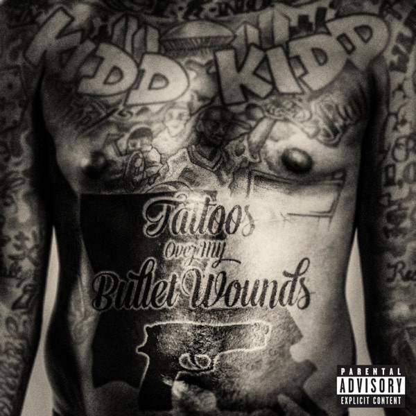 Tattoos Over Bullet Wounds - Single