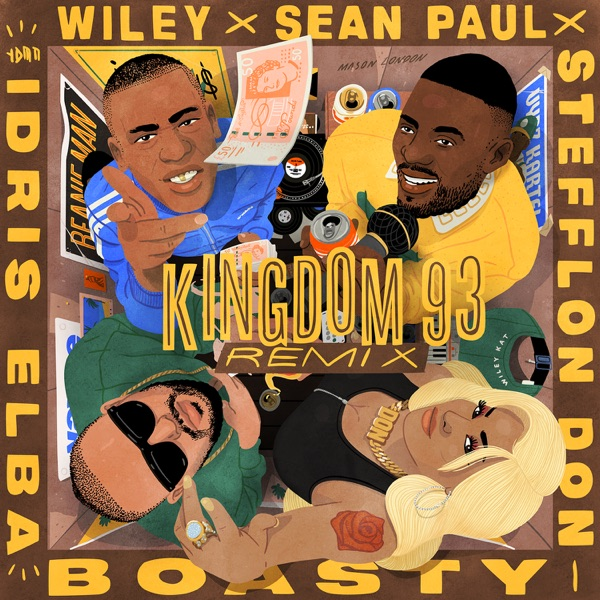 Boasty (feat. Idris Elba) [Kingdom 93 Remix] - Single