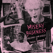 Misery Business - Machine Gun Kelly & Travis Barker Cover Art