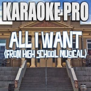 Karaoke Pro - All I Want (Originally Performed by Olivia Rodrigo & High School Musical)