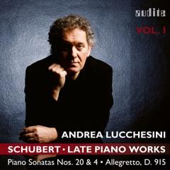 Schubert: Late Piano Works, Vol. 1 (Piano Sonatas Nos. 20 & 4 And the Allegretto, D. 915)