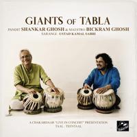 Pandit Shankar Ghosh, Bickram Ghosh & Ustad Kamal Sabri - Giants of Tabla (Live in Concert) artwork