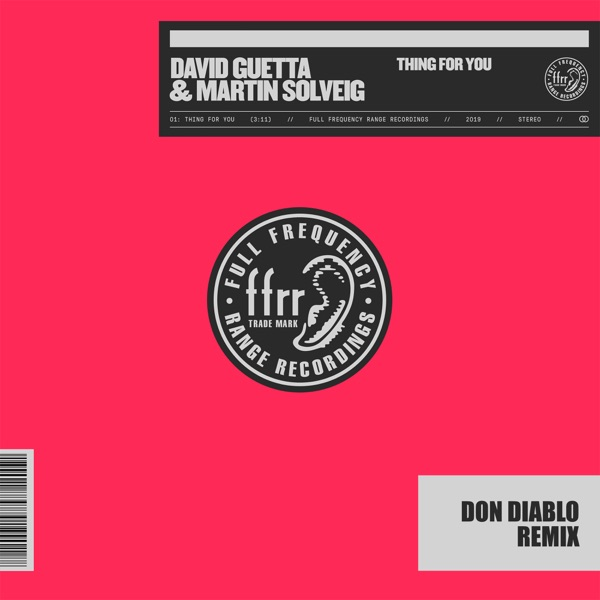 Thing For You (Don Diablo Remix) - Single