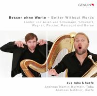 duo tuba & harfe - Besser ohne Worte artwork