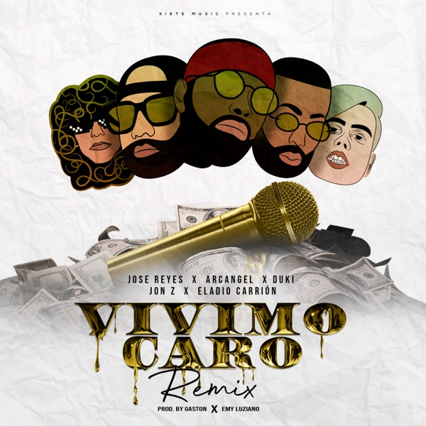Vivimo Caro (feat. Jon Z & Duki) [Remix] - Single