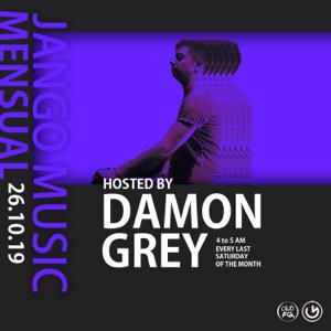 "Damon Grey & Jango Music Radio Show - ""La Mensuelle"" Episode 8 CLUB FG (DJ Mix)"