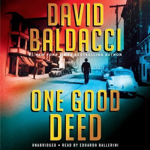 One Good Deed - David Baldacci audiobook, mp3
