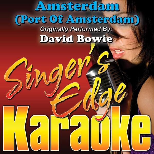 Amsterdam (Port of Amsterdam) [Originally Performed By David Bowie] [Instrumental] - Single