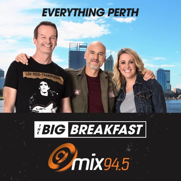 The Big Breakfast with Clairsy, Matt & Kymba Catch Up - Mix 94.5 Perth - Dean Clairs, Kymba Cahill, Matt Dyktynski