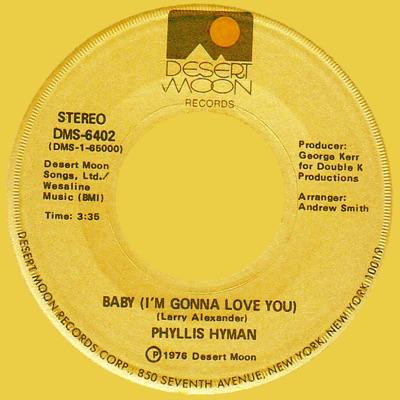 Baby (I'm Gonna Love You) / Do Me - Single - Phyllis Hyman
