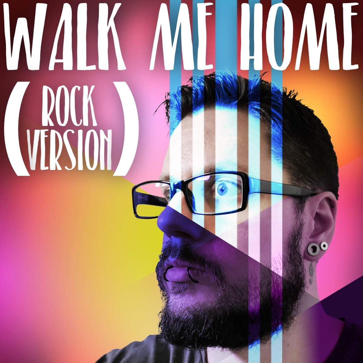 Walk Me Home Rock Version - Single Jack Muskrat CD cover