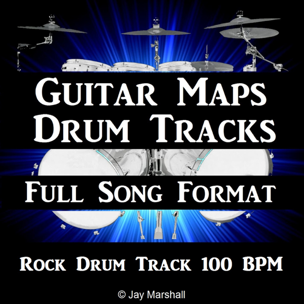 ‎Rock Drum Beat 100 BPM Backing Track for Bass Guitar - Single by Guitar  Maps Drum Tracks