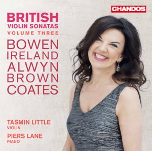 Tasmin Little & Piers Lane - British Violin Sonatas, Vol. 3
