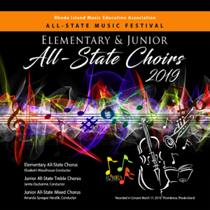 Varios Artistas - RIMEA Rhode Island All-State Music Festival 2019 Elementary & Junior All-State Choirs (Live)
