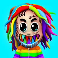 6ix9ine - GOOBA artwork