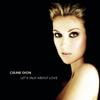 Céline Dion - Let's Talk About Love artwork