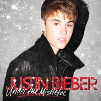 Justin Bieber - Under The Mistletoe artwork