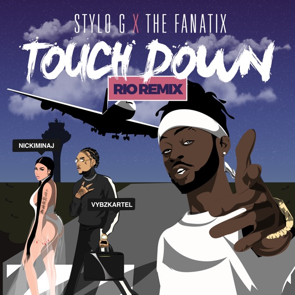 Touch Down (feat. Nicki Minaj & Vybz Kartel) [Rio Remix] - Single
