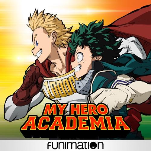 My Hero Academia, Season 4, Pt. 1 movie poster