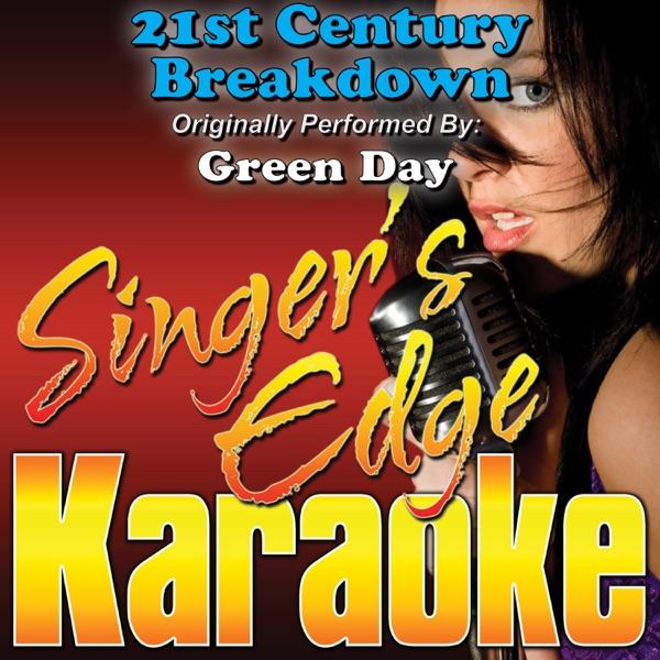 21st Century Breakdown (Originally Performed By Green Day) [Karaoke Version] - Single