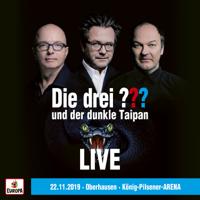 Die drei ??? - und der dunkle Taipan (LIVE - 22.11.19 Oberhausen, Knig Pilsener Arena) artwork