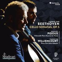Tanguy de Williencourt & Raphaël Pidoux - Beethoven: Cello Sonatas, Op. 5 artwork