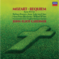 English Baroque Soloists & John Eliot Gardiner - Mozart: Requiem, K. 626 artwork