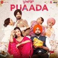 Happy Raikoti, V Rakx Music & Harmanjeet Singh - Puaada (Original Motion Picture Soundtrack) artwork