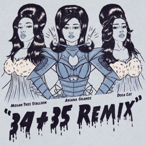 Ariana Grande - 34+35 (Remix) [feat. Doja Cat & Megan Thee Stallion]