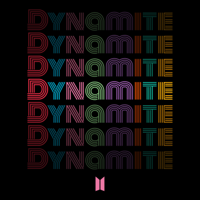 BTS - Dynamite artwork