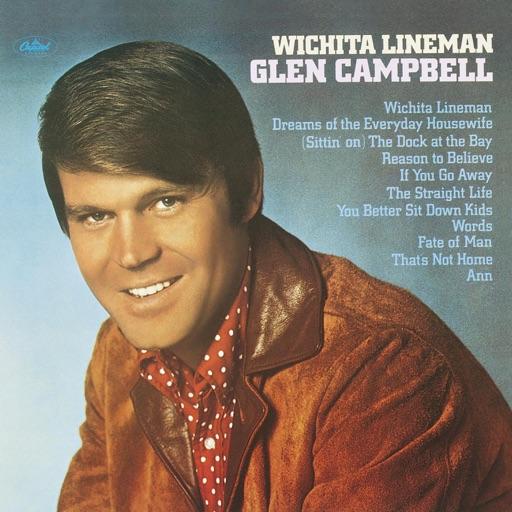 Art for Wichita Lineman by Glen Campbell