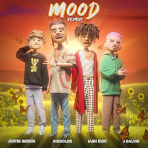 24kGoldn, Justin Bieber, J Balvin & iann dior - Mood (Remix)