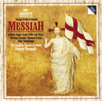 Anne Sofie von Otter, Arleen Auger, The English Concert & Trevor Pinnock - Handel: Messiah artwork
