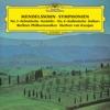 Mendelssohn: Symphonies Nos. 3 & 4, Herbert von Karajan & Berlin Philharmonic
