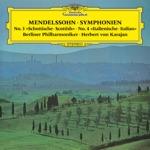 """Berlin Philharmonic & Herbert von Karajan - Symphony No. 3 in A Minor, Op. 56, MWV N 18 """"Scottish"""": I. Andante con moto - Allegro un poco agitato - Assai animato - Andante come prima"""