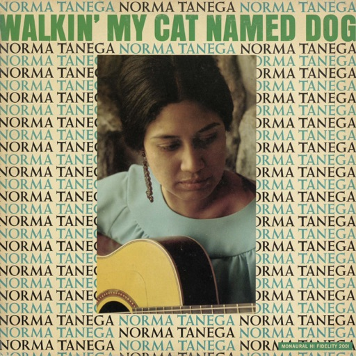 Art for Walkin' My Cat Named Dog by Norma Tanega