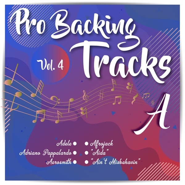 Pro Backing Tracks a, Vol.4