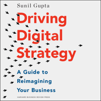 Sunil Gupta - Driving Digital Strategy: A Guide to Reimagining Your Business artwork