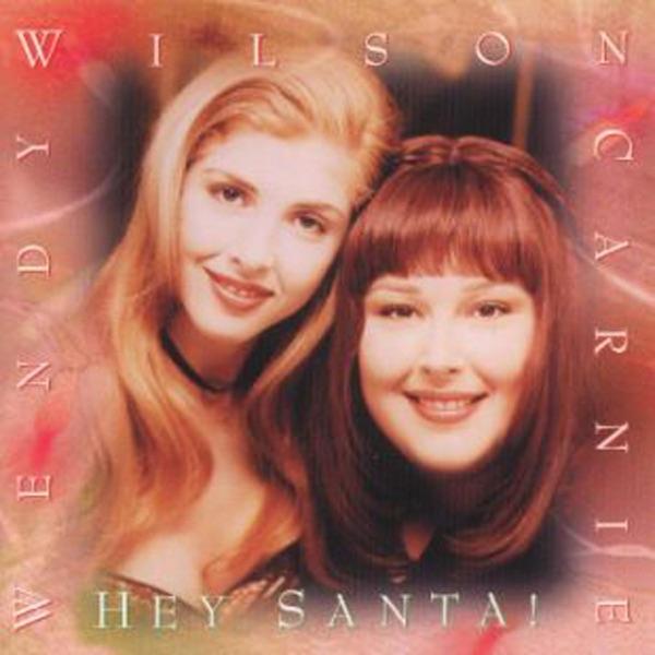 Carnie Wilson & Wendy Wilson mit Rudolph the Red-Nosed Reindeer