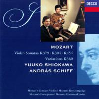 Yuuko Shiokawa & András Schiff - Mozart: Violin Sonatas artwork